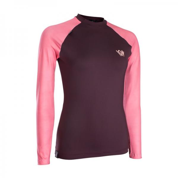 ION Rashguard Women LS 2020 - Red